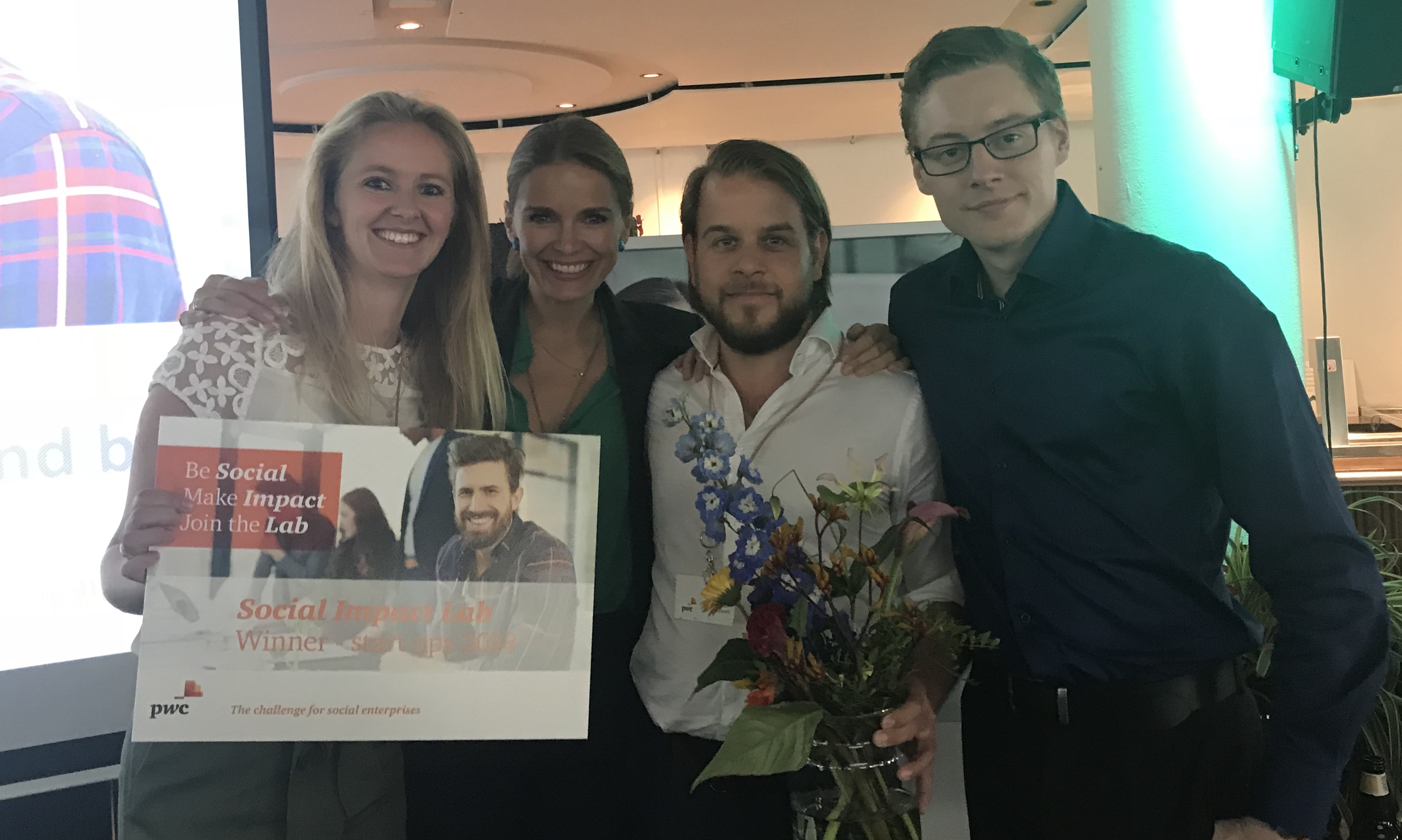 Winner of PwC Social Impact Lab Challenge 2018
